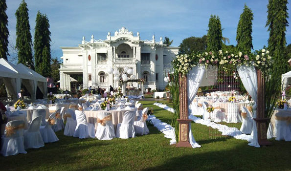Best Venue for Outdoor Wedding Reception in Iloilo