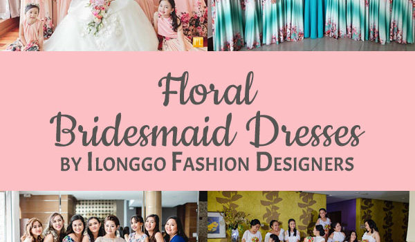 Floral Bridesmaid Dresses: Inspiration for Your Own Girls!