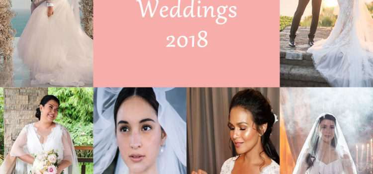 Pinoy Celebrity Weddings in 2018