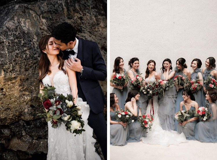 Pinoy Celebrity Weddings In 2019 Iloilo Wedding Network,Elegant Knee Length Stunning Wedding Guest Dresses