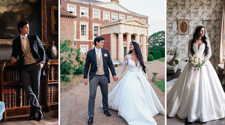 Phil Younghusband and Margaret Hall Wedding